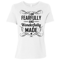 I AM FEARFULLY AND WONDERFULLY MADE Ladies' Relaxed Jersey Short-Sleeve T-Shirt