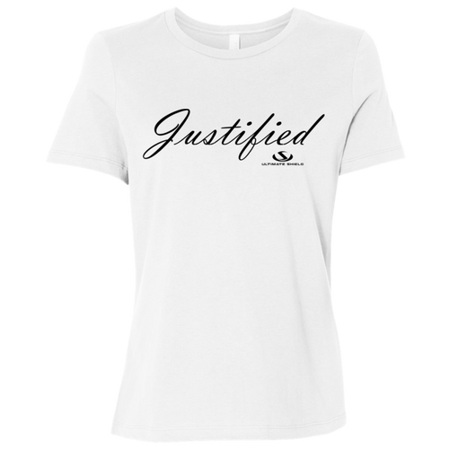 JUSTIFIED Ladies' Relaxed Jersey Short-Sleeve T-Shirt