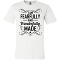 I AM FEARFULLY AND WONDERFULLY MADE Youth Jersey Short Sleeve T-Shirt