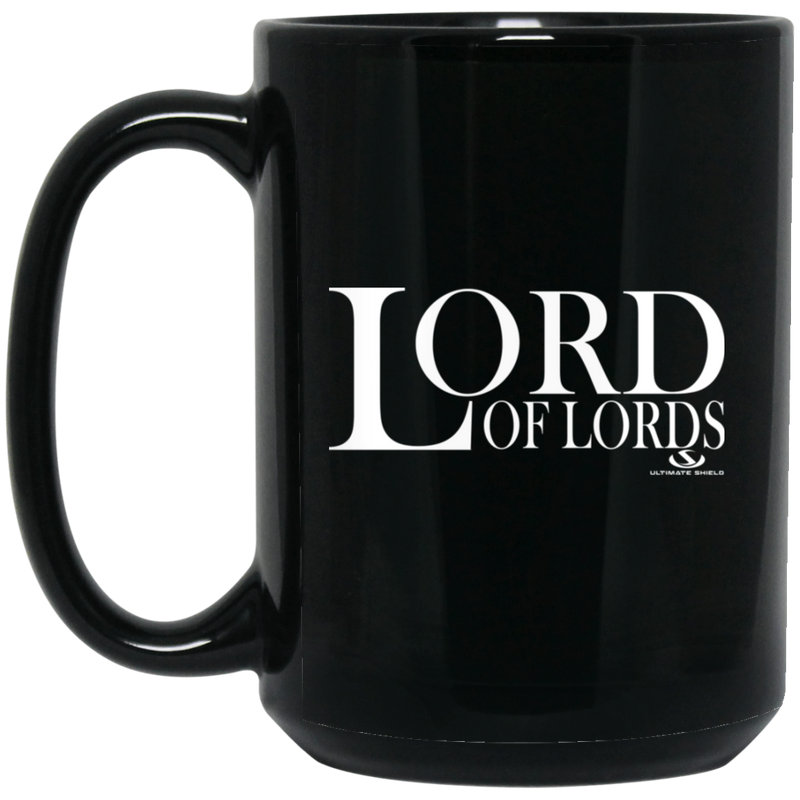 LORD OF LORDS 15 oz. Black Mug