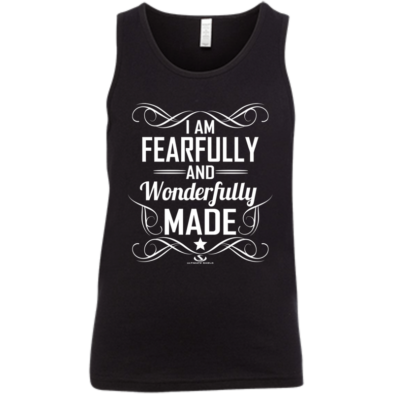 I AM FEARFULLY AND WONDERFULLY MADE Youth Jersey Tank