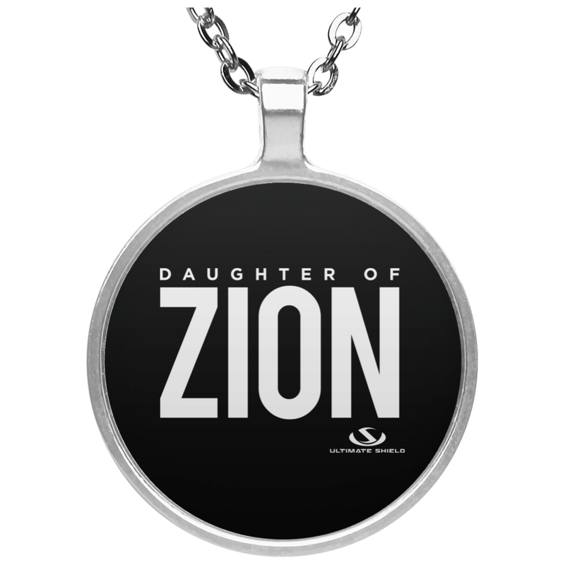 DAUGHTER OF ZION Circle Necklace