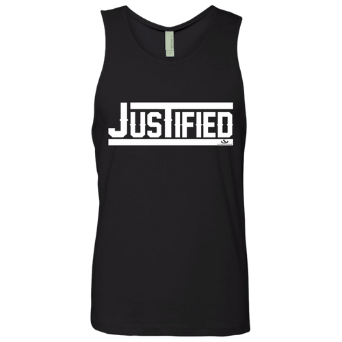 JUSTIFIED Men's Cotton Tank