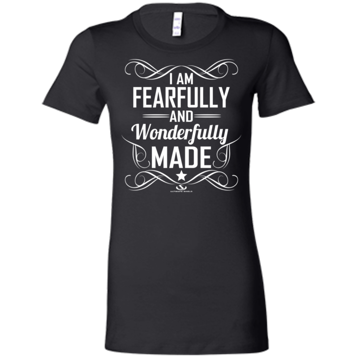 33fae57e734d9 I AM FEARFULLY AND WONDERFULLY MADE Ladies' Favorite T-Shirt