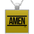 AMEN Square Necklace