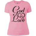 GOD IS LOVE  Ladies' T-Shirt