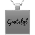GRATEFUL Square Necklace