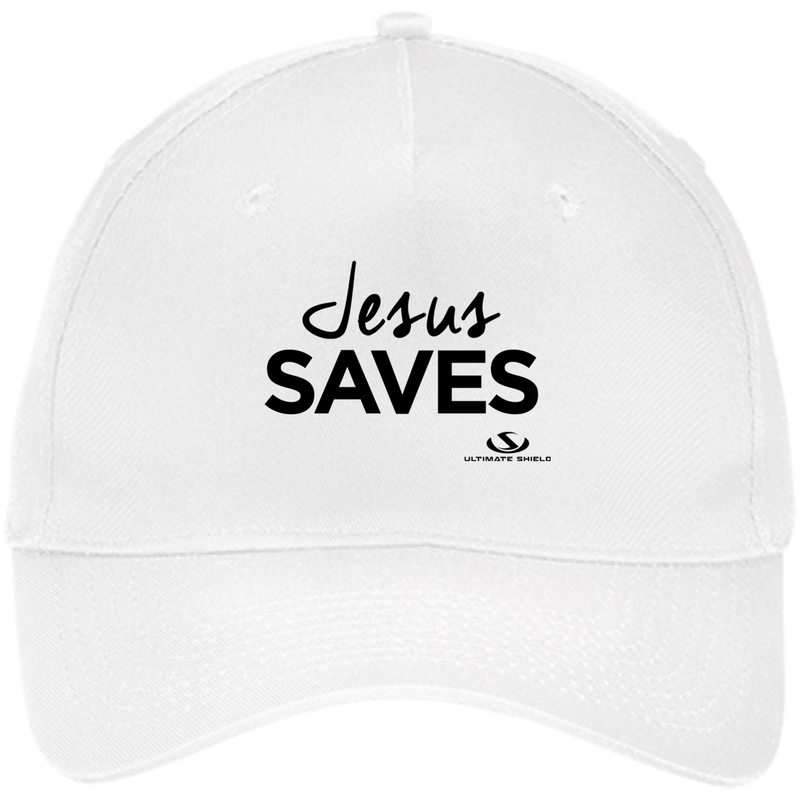JESUS SAVES Five Panel Twill Cap