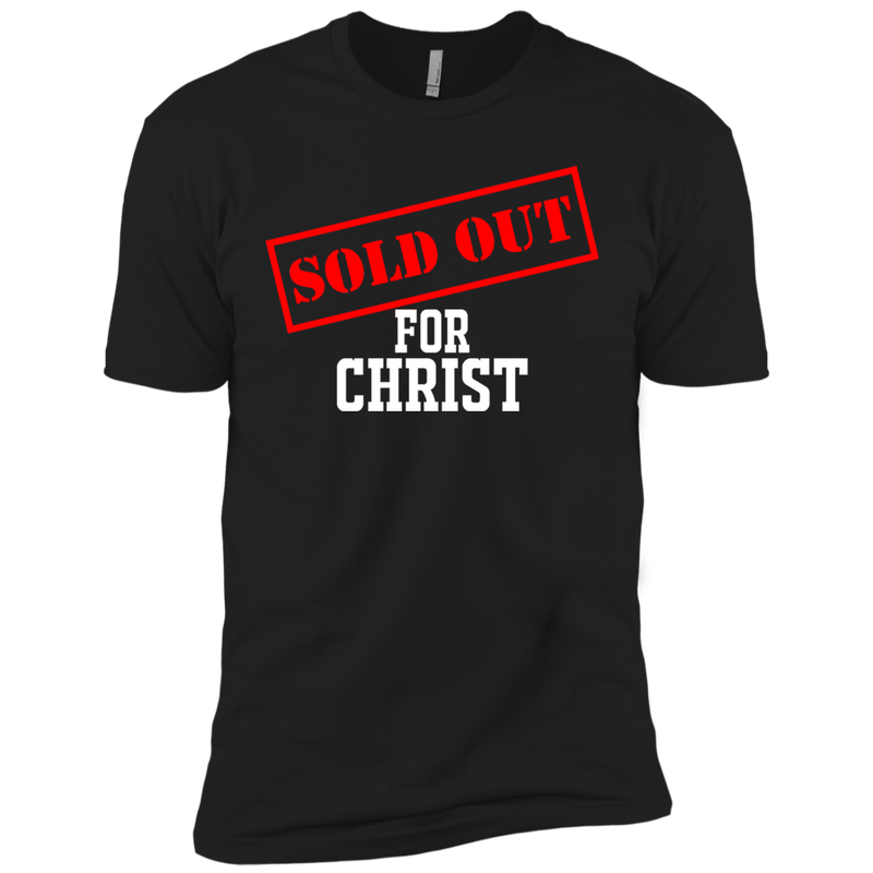 Sold Out For Christ Men Premium Short Sleeve T-Shirt