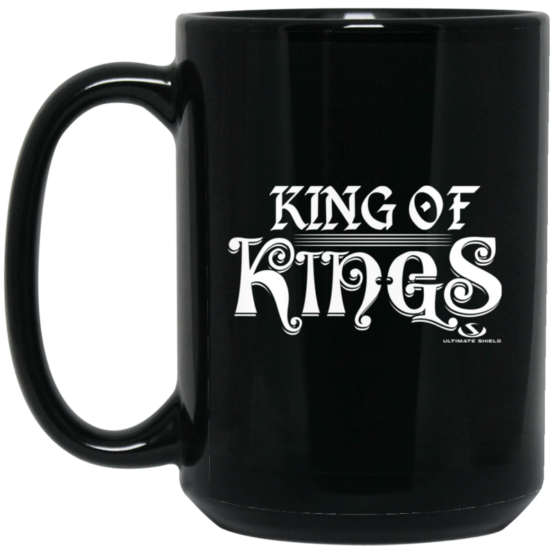 KING OF KINGS 15 oz. Black Mug