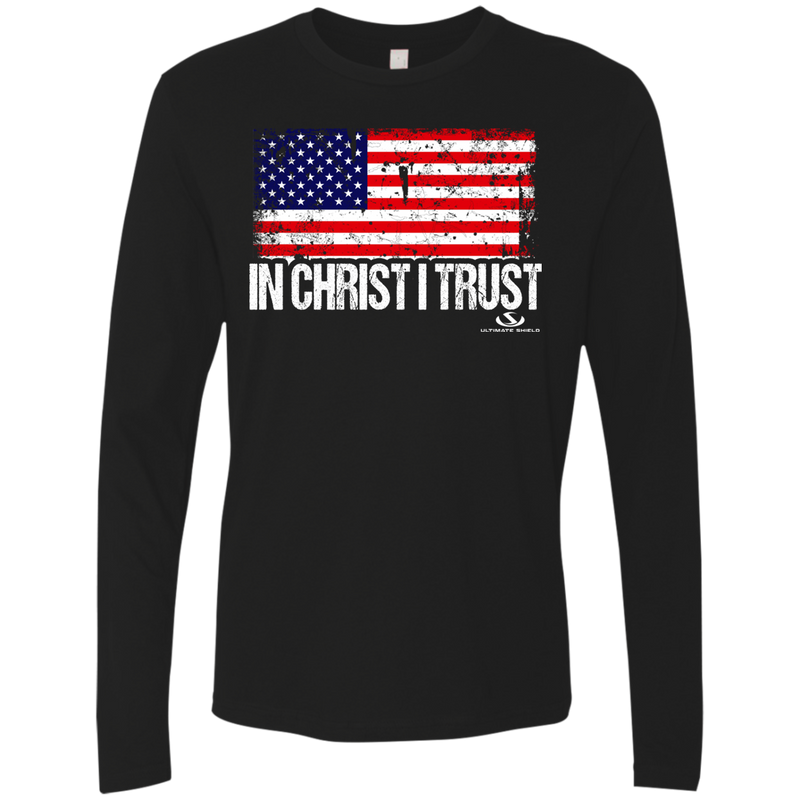 IN CHRIST I TRUST Men's Premium LS