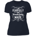 I AM FEARFULLY AND WONDERFULLY MADE Ladies' Boyfriend T-Shirt
