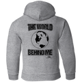 THE WORLD BEHIND ME Toddler Pullover Hoodie