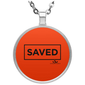 SAVED Circle Necklace