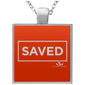 SAVED Square Necklace