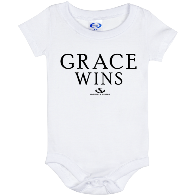 GRACE WINS Onesie 6 Month