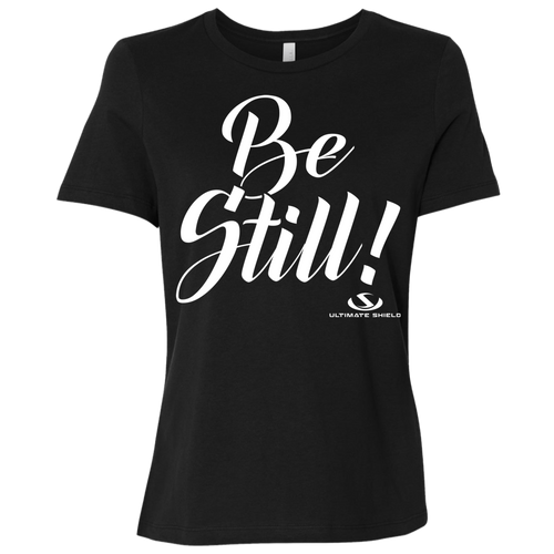 BE STILL Ladies' Relaxed Jersey Short-Sleeve T-Shirt