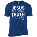JESUS IS THE WAY TRUTH AND LIFE Premium Short Sleeve T-Shirt