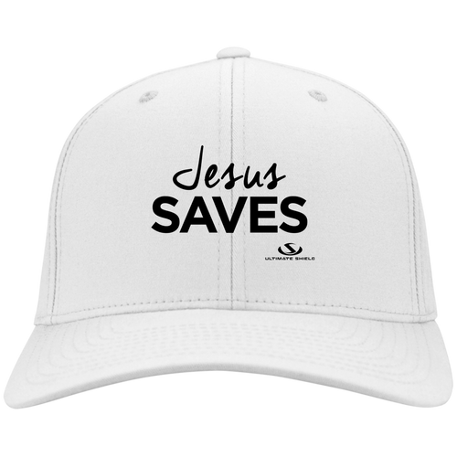 JESUS SAVES Twill Cap