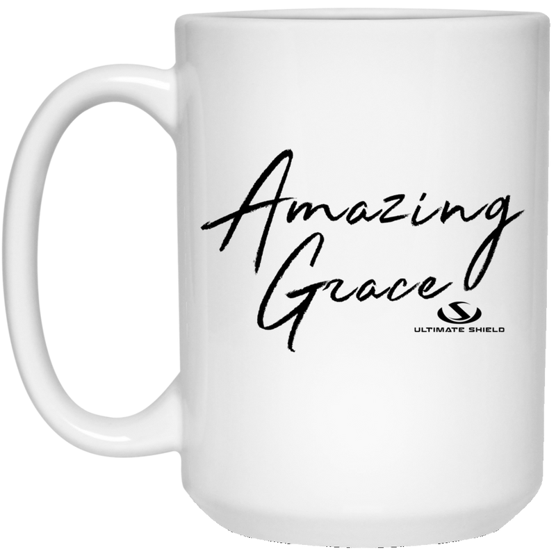 AMAZING GRACE 15 oz. White Mug