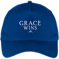 GRACE WINS Five Panel Twill Cap