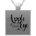 APPLE OF GOD'S EYE Square Necklace