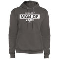 MIGHTY MAN OF VALOR Fleece Pullover Hoodie