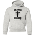 THE CROSS BEFORE ME Youth Pullover Hoodie