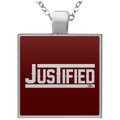 JUSTIFIED Square Necklace