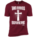THE CROSS BEFORE ME Premium Short Sleeve T-Shirt