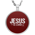 JESUS IS LORD Circle Necklace