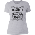 I AM FEARFULLY AND WONDERFULLY MADE Ladies' T-Shirt