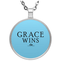 GRACE WINS Circle Necklace