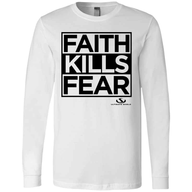FAITH KILLS FEAR Men's Jersey LS T-Shirt