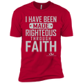 I HAVE BEEN MADE RIGHTEOUS THROUGH FAITH Premium Short Sleeve T-Shirt