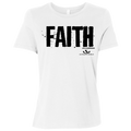 FAITH Ladies' Relaxed Jersey Short-Sleeve T-Shirt