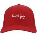 JESUS LOVES YOU Twill Cap