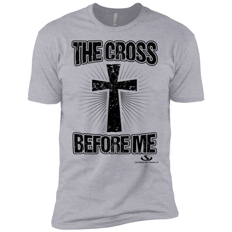 THE CROSS BEFORE ME Boys' Cotton T-Shirt