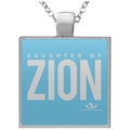 DAUGHTER OF ZION Square Necklace