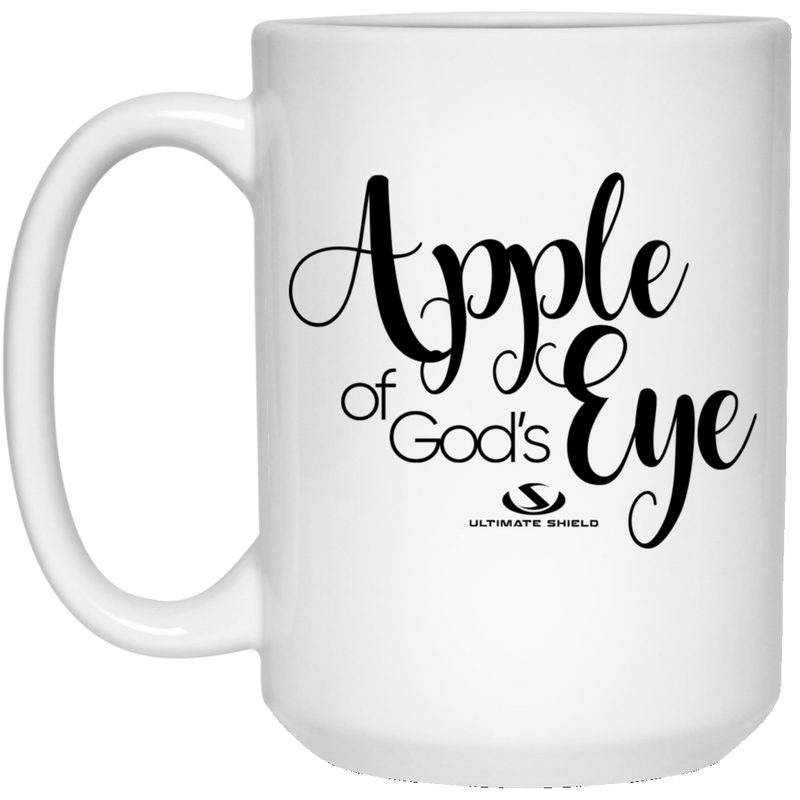 APPLE OF GOD'S EYE 15 oz. White Mug