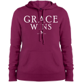 GRACE WINS Ladies' Pullover Hooded Sweatshirt