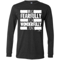 I AM FEARFULLY AND WONDERFULLY MADE Men's Jersey LS T-Shirt