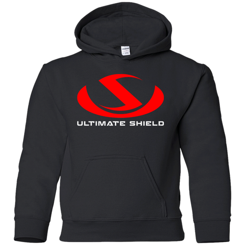 ULTIMATE SHIELD FAITH LOGO  Youth Pullover Hoodie