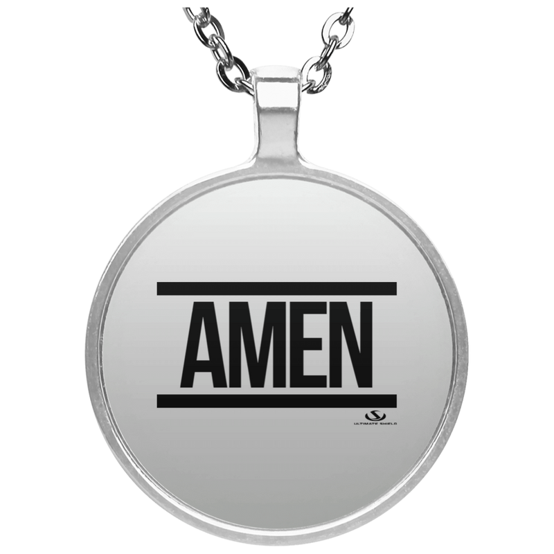 AMEN Circle Necklace
