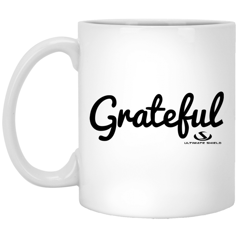 GRATEFUL11 oz. White Mug