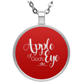 APPLE OF GOD'S EYE Circle Necklace