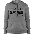 JESUS SAVES Ladies' Pullover Hooded Sweatshirt