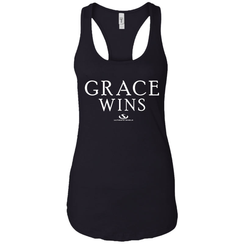 GRACE WINS Ladies Ideal Racerback Tank
