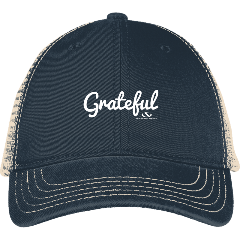 GRATEFUL Mesh Back Cap
