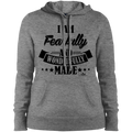 I AM FEARFULLY AND WONDERFULLY MADE  Ladies' Pullover Hooded Sweatshirt